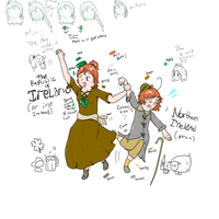 Ireland and Northern Ire. Ref by Flutter-Butter