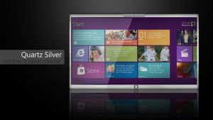Quartz Silver, Windows 8 Tablet Concept by sharkurban
