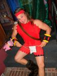 cosplay dave the barbarian by hagendraug