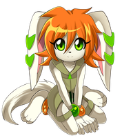 Milla the Hound by SpacemanStrife