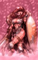 Red Sonja by Justice41 by StephenSchaffer
