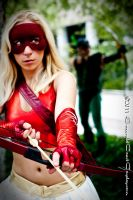 Arrowette - Green Arrow Will Watch Out For You by EmeraldCoastCosplay