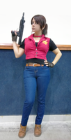 Claire Redfield cosplay RE CVX by Vicky-Redfield
