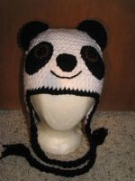 Panda Hat by FleurChung