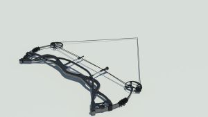 Compound Bow Down by tom55200
