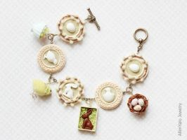 Bracelet Easter day by allim-lip