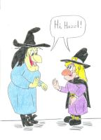 Disney and WB Witches by Jose-Ramiro