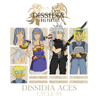 Dissidia Aces Cycle 2 by RasgarBlue