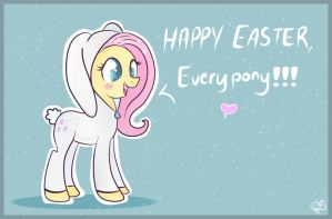 Happy Easter, everypony! by Balloons504