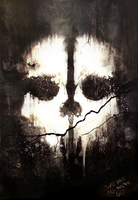 Call of Duty : Ghosts - Cleaned Poster HD v2 by MuuseDesign