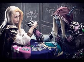 World of Warcraft: Alliance vs Horde by ver1sa