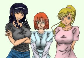 Midas Touch 5: Cassidy, Leah, Sophia by TheXtra89