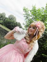 Pink Hime Lolita by Etienne-Magique