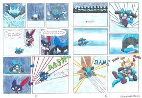 The Riolu and the Ruby - Pages 5-6 by KawasakiBlitzer