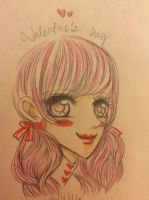 The Valentine's Day girl by pingcheung