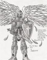 The Armor Of God: Black and Wh by Sketcher6138