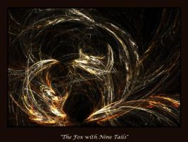 The Fox with Nine Tails by pickledeer