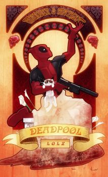 Deadpool by DevonneAmos