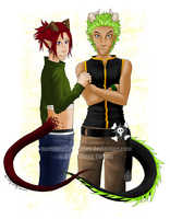 Tye and Nel by marshmellowbrains