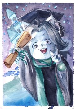 Temmie graduated from college by paurachan