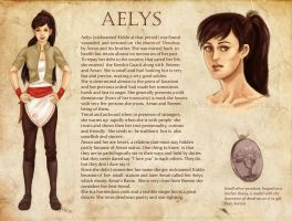 Commission - Aelys' Character Sheet by Nike-93