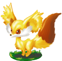 Fennekin I Choose you! by allocen