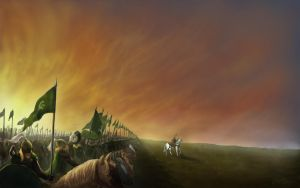 Theoden's Last Charge by adibara