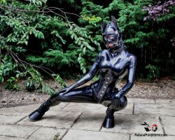 Latex Lucy Ponygirl by Kantaka66