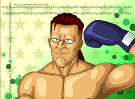 Punch Out: Silly Aran by StaniaMarsh
