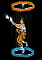 Portal : Chell by SaintsSister47