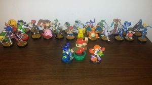 My amiibo collection  by DGAnimation616