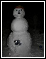 snowman by TheCrowBrandonLee
