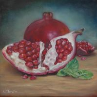 pomegranate by ilanya