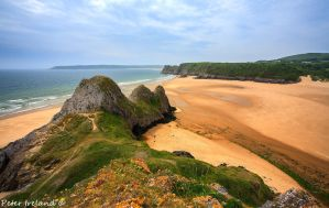 Three Cliffs Bay by Pistolpete2007
