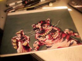 My_Sketchbook_Crazy_Cat by samstrack