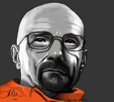 Walter White by Qurkiegrl