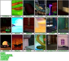 GEX Channel Forms Meme by MrPr1993