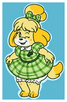 Isabelle's New Threads by FizTheAncient
