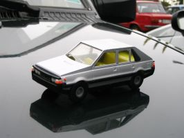 small plastic model by Voith