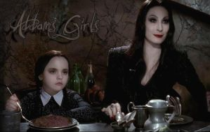 Addams Girls by Bellatrix-666