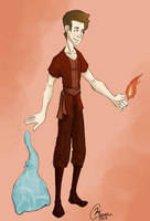 Fire Nation Avatar OC by KassieC