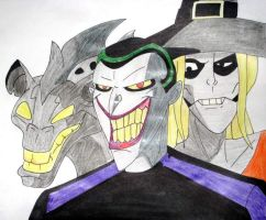 Joker's Jokerz by CrazyCrocuta