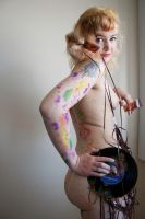 Mixed Media Nude 01 by pHotOPuNK82