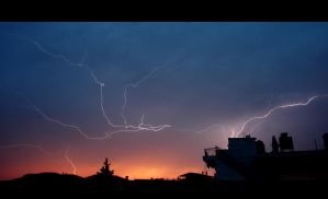 Lightning by MartheMa