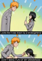 Rukia's Drawings! by Puffypaw