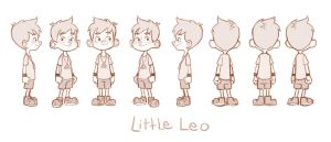 Little Leo Turn Around by LuigiL