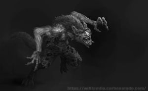Werewolf by giantwood