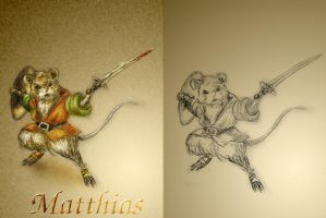 Matthias of Redwall by spydaman