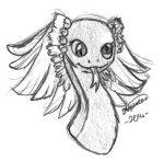 Flight Rising - Derpy coatl by bittykitty