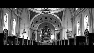 Cathedral BW by lomax-fx